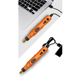 HILDA MD3326C USB Charging Rotary Tool Kit 3.6V Cordless Variable Speed Electric Grinder Drill_