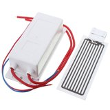 220V 10g Ozonater Ozone Generator with Ceramic Plate For Water Plant Air Cleaner_