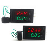 DL69-2042 4-Digit Dual Display Huidige Voltmeter AC 80-300 V 0-100A Led Volt Amp Meter Voltage Huidige Meter_