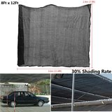 7.9x11.8ft Polyethyleen Sun Block Shade Cloth voor Plant Cover Greenhouse Schuur of Kennel_