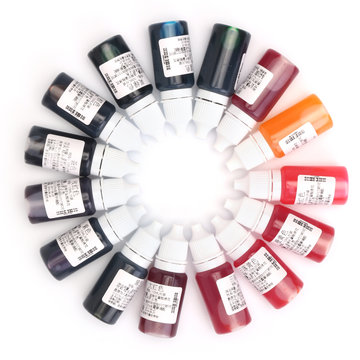 15 kleuren Coloring Dye Colorant Pigment DIY Mix Color voor Epoxy UV harslijm