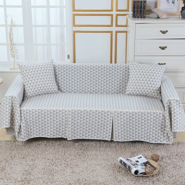 Sofa Cover Couch Hoeslaken Cotton Blend 1-4 Seater Hondenstoel Covers Protector voor Living Room