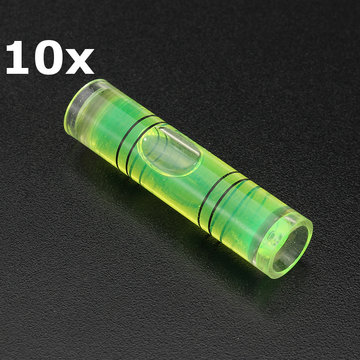 10st Mini Level Gauge Cilinders Horizontale Bubble voor Photo Frame Wal