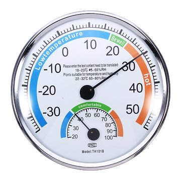 Thermometer Hygrometer Weermeter voor Indoor Outdoor Kantoren Laboratorium