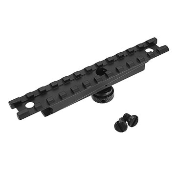 Tactische Handgreep Mount Laser Sight Scope Mount Weaver Picatinny Rail Mount See-throu Design