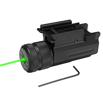 Green Laser Beam Dot Sight Scope Hang Type Compact Tactical Picatinny 20mm Railmontage