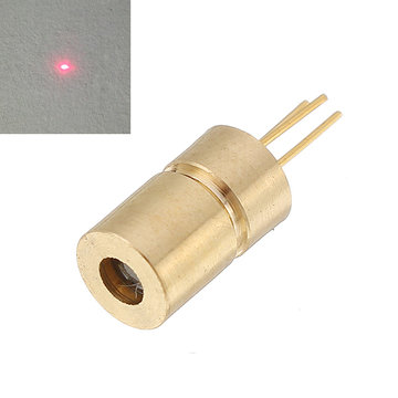 650nm 10mw 5V Red Dot laserdiode Mini lasermodule voor apparatuurindustrie 6x10.5mm