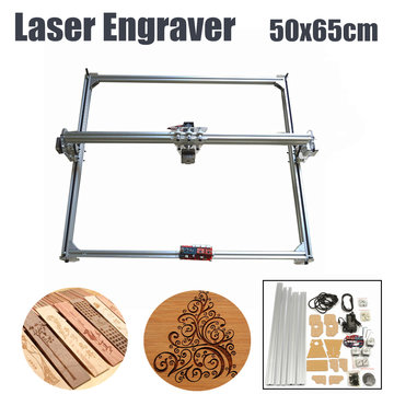 50x65cm 300mW Mini lasergravure snijmachine Printer Kit Desktop