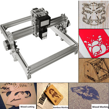 32 cm * 23 cm DIY 500 mW Lasergraveermachine Lasergraveerder Printer Carving Desktop CNC Kit