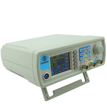 JUNTEK ™ JDS6600 DDS Signaalbron Dual Channel Arbitrary Wave Function Generator Frequentietelling