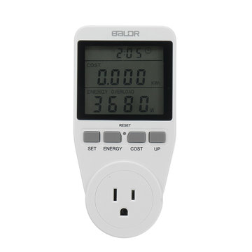 Smart Power Energiemeter Monitor Watt Volt Volt Elektriciteit Analyzer US