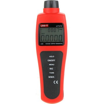 UNI-T UT372 Lcd Display Digitale Niet-Contact USB Interface Tachometer 10RPM-99999RPM