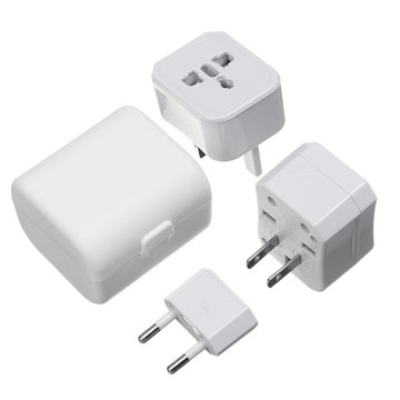 Universal Travel Plug Converter Adapter Socket Charger AU / UK / US / EU GECERTIFICEERD PC-materiaal