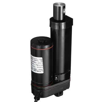 DC 12V 750N Lineaire actuator Motor 50-250 mm Aluminiumlegering IP54 Lineaire actuator