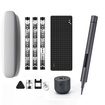 Wowstick 1F + 64 In 1 Elektrische schroevendraaier Draadloze Lithium-ion Charge LED Power schroevendraaier vanaf XIAOMI ECO-systeem