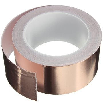 50mmX20m Koperfolieband Single Conductive EMI Shielding Adhesive
