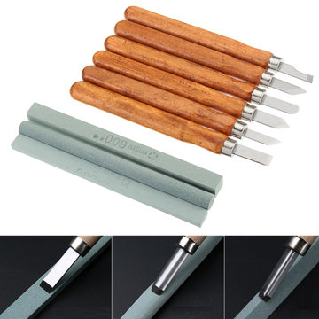 15st Carbon Steel Wood Carving Tools Kit Houtsnijbeitel Set voor DIY Houtbewerking Graver