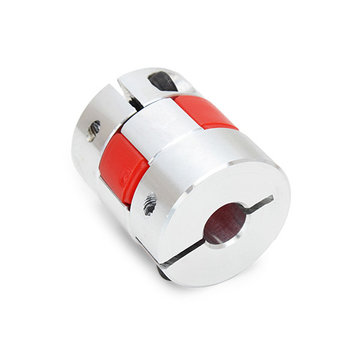 Machifit 5mm x 8mm Aluminium Flexibele Spindelkoppeling OD25mm x L30mm CNC Stappenmotor Coupler Connector