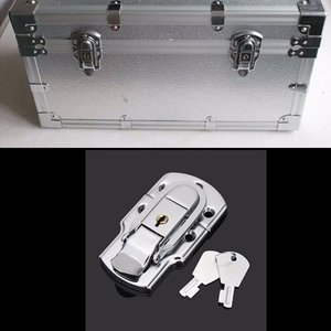 Box Buckle Iron Lock Air Box Hasp Instrument Case Lock Hardware Bevestiging Met Toetsen
