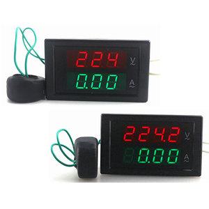 DL69-2042 4-Digit Dual Display Huidige Voltmeter AC 80-300 V 0-100A Led Volt Amp Meter Voltage Huidige Meter