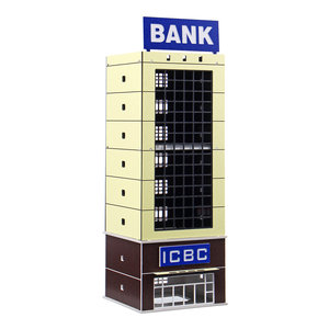 1/150 Outland Model Modern Building Bank N Schaal VOOR GUNDAM Gifts
